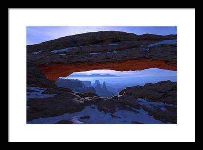 Moab Framed Prints