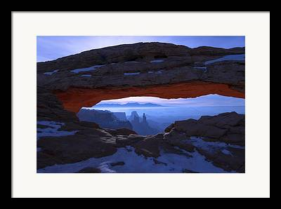 Erosion Framed Prints
