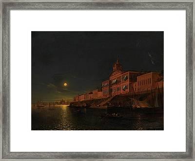 Moonlit Night Framed Print by MotionAge Designs