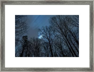 Moonlit Sky Framed Print