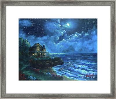 Moonlit Splendor Framed Print