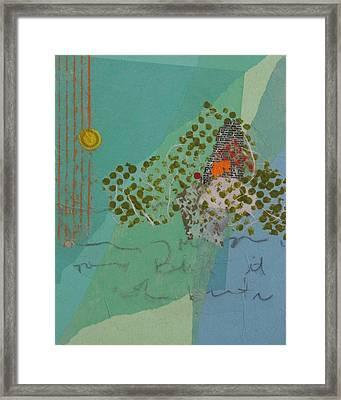 Moonlit Gobbler Framed Print