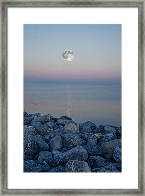 Moonlit Twilight Framed Print