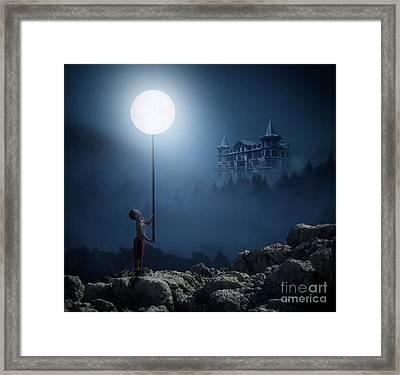 Moonplay Framed Print by Bruno Santoro