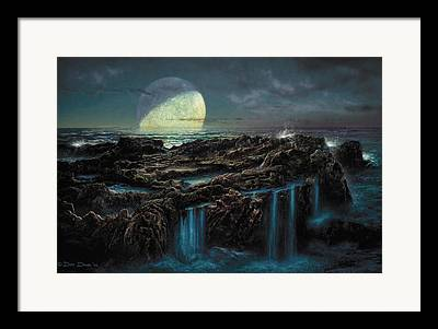 Astronomical Paintings Framed Prints
