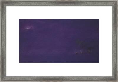 Moonrise Framed Print by Amanda Clark