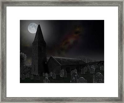 Moonrise At St Germanus Framed Print