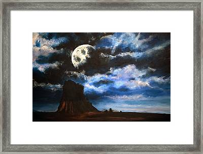 Moonrise IIi Framed Print by Amy Williams
