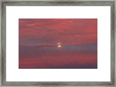Moonrise Framed Print by Jerry LoFaro