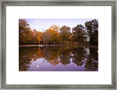 Moonrise Over Shiloh Framed Print by Harry H Hicklin