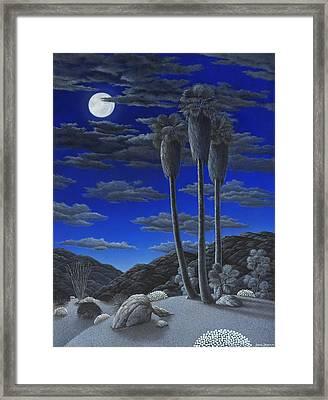 Moonrise Framed Print by Snake Jagger