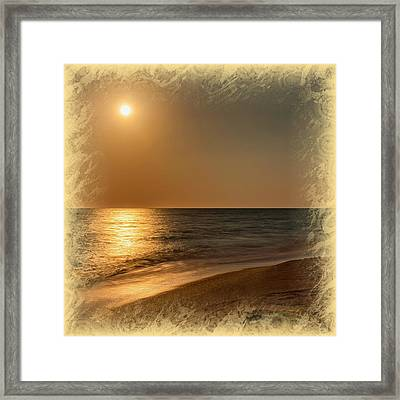 Moonscape 2 Framed Print by John M Bailey