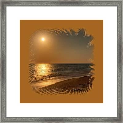 Moonscape 3 Framed Print