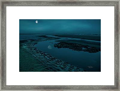 Moonscape 4 Framed Print
