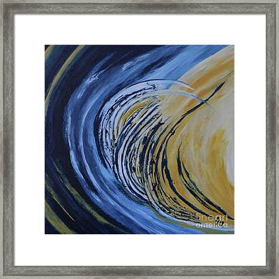 Moonscape Vii Framed Print