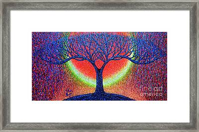 moonshine-2/God-is light/ Framed Print by Viktor Lazarev