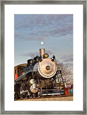 Moonsmoke Framed Print by Douglas Barnett