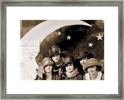 Moonstruck Framed Print by Joe Jake Pratt