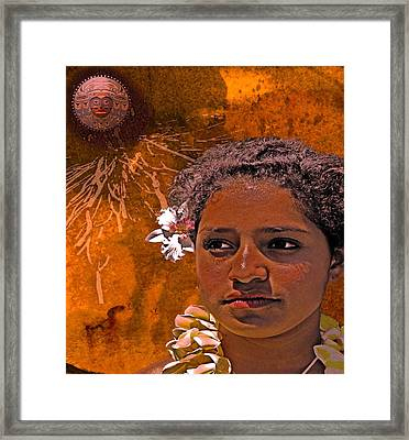 Moonswept Framed Print by Jeff Burgess