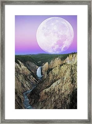My Purple Dream Framed Print by Edgars Erglis
