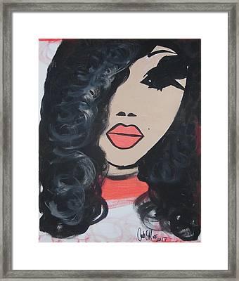 Moore Melanin Framed Print