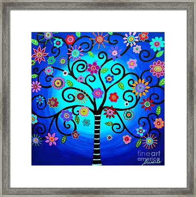 Moore's Tree Of Life Framed Print