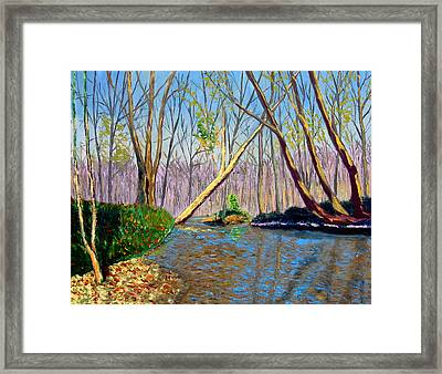Mooresville 11 2 Framed Print by Stan Hamilton