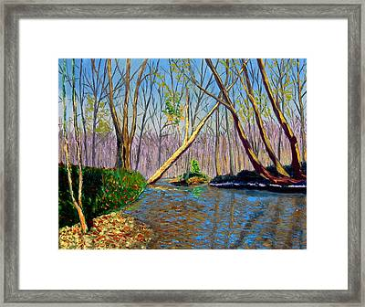 Mooresville November Framed Print by Stan Hamilton