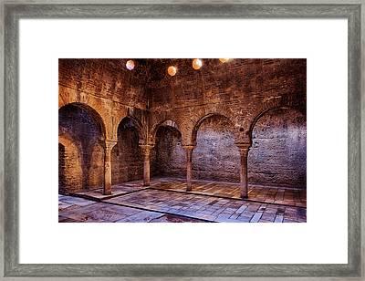 Moorish Baths Granada Framed Print