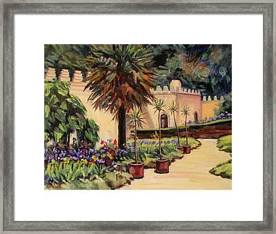 Moorish Garden Framed Print