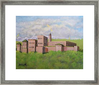 Moorish Palace Framed Print