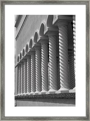 Moorish Pillars Spain Framed Print by Douglas Pike