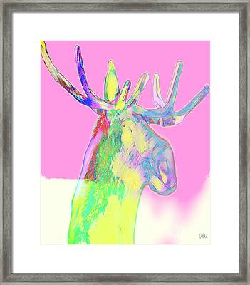 Moosemerized Framed Print