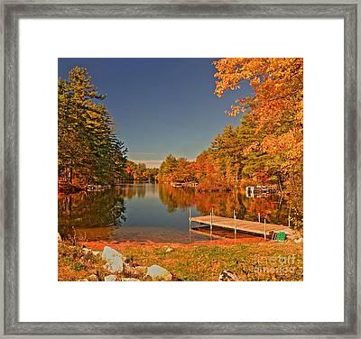 Moose Pond Framed Print