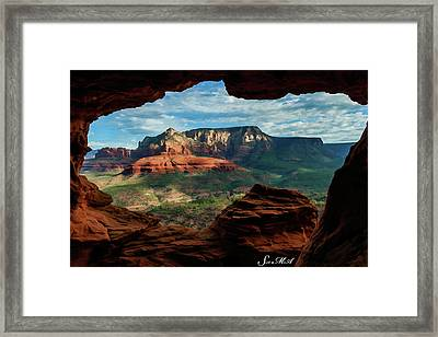 Moose Ridge 06-056 Framed Print