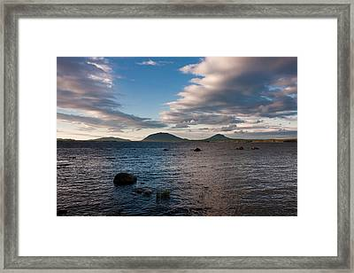 Moosehead Lake Spencer Bay Framed Print by Brent L Ander