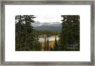 Moosehorn Lake Framed Print