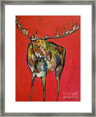 Moozie Framed Print by Anderson R Moore