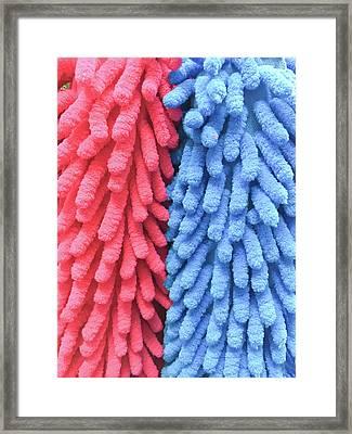 Mop Fabric Framed Print