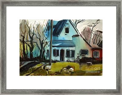 Moppity's House Matted Framed Glassed Framed Print by Charlie Spear