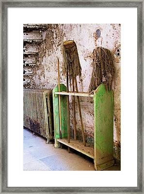 Mops At Eastern State Penitentiary Framed Print