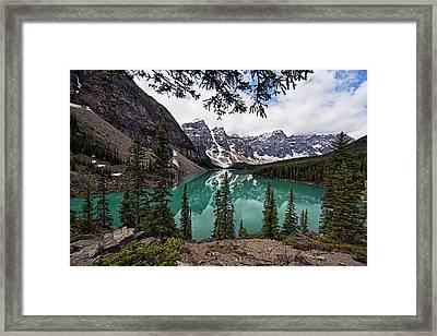 Moraine Lake Framed Print