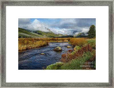 Moraine Park Morning - Rocky Mountain National Park, Colorado Framed Print
