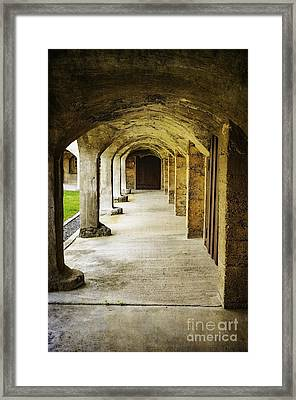 Moravian Pottery And Tile Works Framed Print by Debra Fedchin