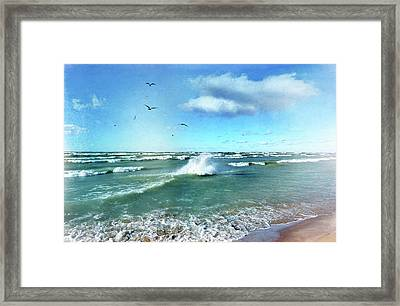 More Beautiful Than Yesterday Framed Print