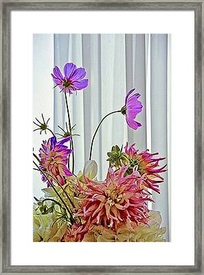 More Formal Flowers Framed Print by John Toxey