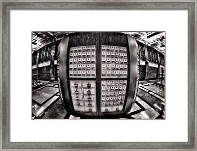 More From An Undisclosed Location Framed Print