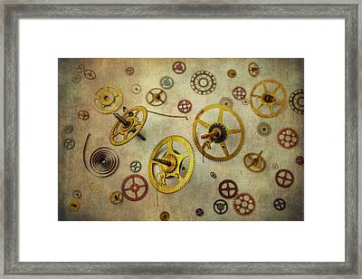 More Gears Framed Print by Garry Gay