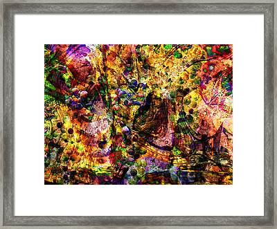 More Grapes Framed Print by Kiki Art