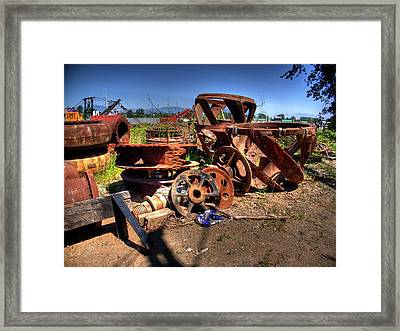 More Junk Framed Print